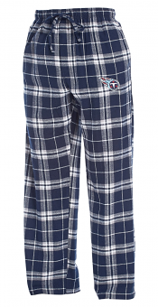 "Tennessee Titans NFL ""Huddle"" Men's Flannel Pajama Pants"