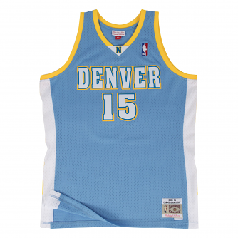 buy popular 4fcac f7639 Carmelo Anthony Denver Nuggets Mitchell & Ness NBA Throwback Jersey - Blue