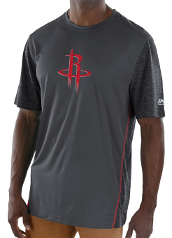 "Houston Rockets Majestic NBA ""Respect"" Men's S/S Performance Shirt"