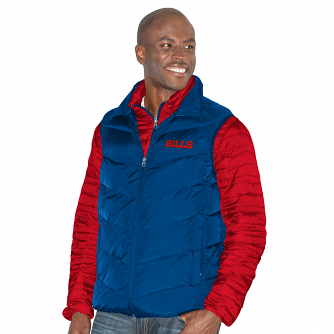 """Buffalo Bills G-III NFL """"Three N Out"""" Systems 3-in-1 Premium Vest Jacket"""