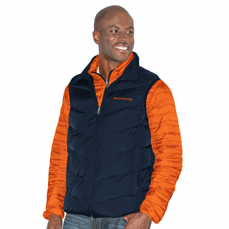 "Denver Broncos G-III NFL ""Three N Out"" Systems 3-in-1 Premium Vest Jacket"