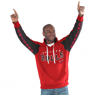 "Chicago Bulls NBA Men's G-III ""Hands High"" Hooded Fleece Sweatshirt"