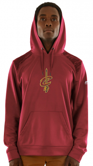 "Cleveland Cavaliers Majestic NBA ""Armor 3"" Men's Pullover Hooded Sweatshirt"