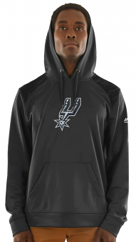 "San Antonio Spurs Majestic NBA ""Armor 3"" Men's Pullover Hooded Sweatshirt"