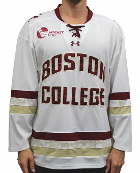 ddfaa8d4a Boston College Eagles Under Armour NCAA Men's Replica Hockey Jersey - White