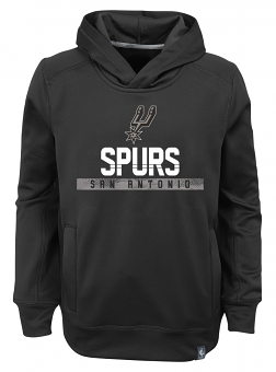 "San Antonio Spurs Youth NBA ""Playmaker"" Pullover Hooded Performance Sweatshirt"