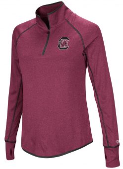 "South Carolina Gamecocks Women's NCAA ""Superstar"" 1/4 Zip Long Sleeve Wind Shirt"