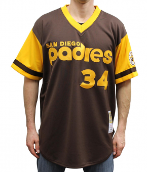 Rollie Fingers San Diego Padres Mitchell & Ness MLB Authentic 1978 Jersey