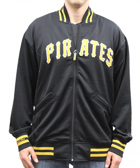 Pittsburgh Pirates Mitchell & Ness MLB Authentic F/Z 1987 BP Jacket - Size XL