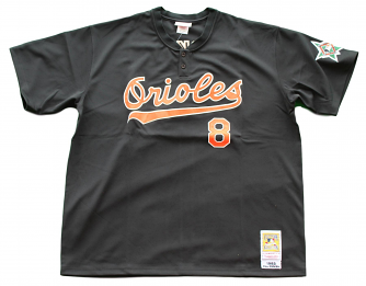 Cal Ripken Jr. Baltimore Orioles Mitchell & Ness Authentic 1993 Jersey - Black