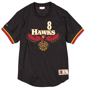 Steve Smith Atlanta Hawks Mitchell & Ness NBA Men's Mesh Jersey Shirt