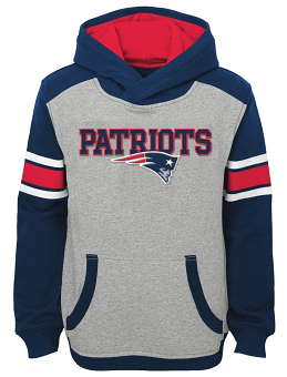 "New England Patriots Youth NFL ""Allegiance"" Pullover Hooded Sweatshirt"