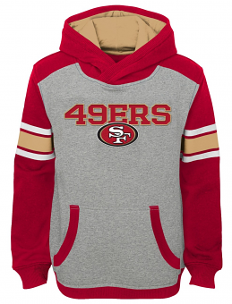 "San Francisco 49ers Youth NFL ""Allegiance"" Pullover Hooded Sweatshirt"