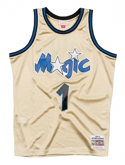 Anfernee Hardaway Orlando Magic Mitchell & Ness NBA Throwback Jersey - Gold