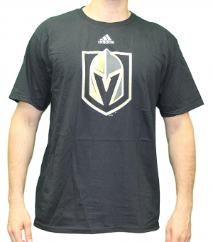 Las Vegas Golden Knights Adidas NHL Primary Logo Men's Black T-Shirt