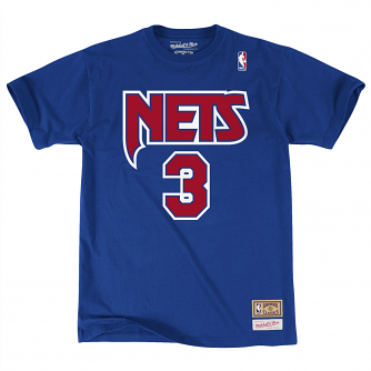"Drazen Petrovic New Jersey Nets Mitchell & Ness NBA Men's ""Player"" S/S T-Shirt"