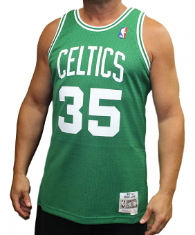Reggie Lewis Boston Celtics Mitchell & Ness NBA Swingman 87-88 Jersey - Green