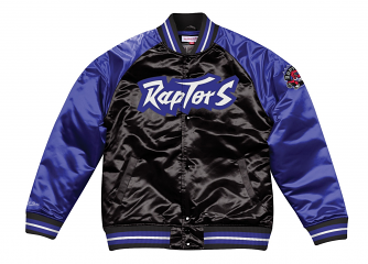 "Toronto Raptors Mitchell & Ness NBA ""Tough Season"" Premium Satin Jacket"