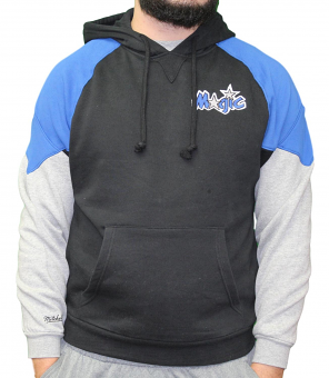 "Orlando Magic Mitchell & Ness NBA ""Trading Block"" Pullover Hooded Sweatshirt"