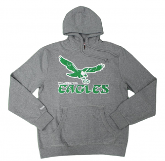 Philadelphia Eagles Mitchell & Ness NFL Pullover Hooded Sweatshirt