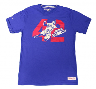 "Jackie Robinson Brooklyn Dodgers MLB Mitchell & Ness ""42"" Men's T-Shirt"