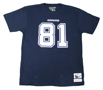 "Terrell Owens Dallas Cowboys Mitchell & Ness NFL Men's ""Player""  S/S T-Shirt"
