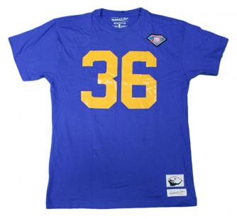 "Jerome Bettis Los Angeles Rams Mitchell & Ness NFL Men's ""Player""  S/S T-Shirt"
