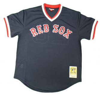 Wade Boggs Boston Red Sox Mitchell & Ness Authentic 1992 Navy BP Jersey