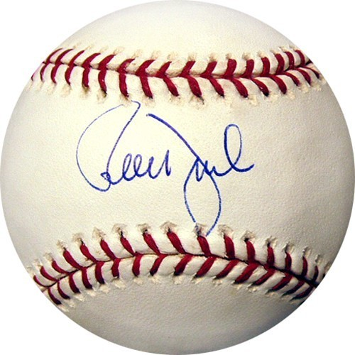 Ron Darling Signed MLB Baseball
