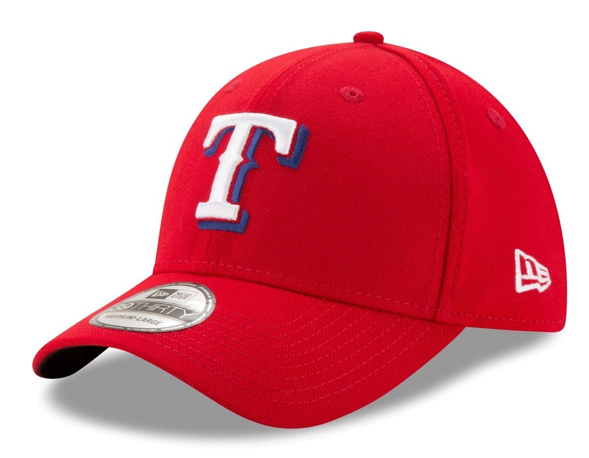 check out 3f02c 30d26 Details about Texas Rangers New Era MLB 39THIRTY Team Classic Flex Fit Hat  - Alternate