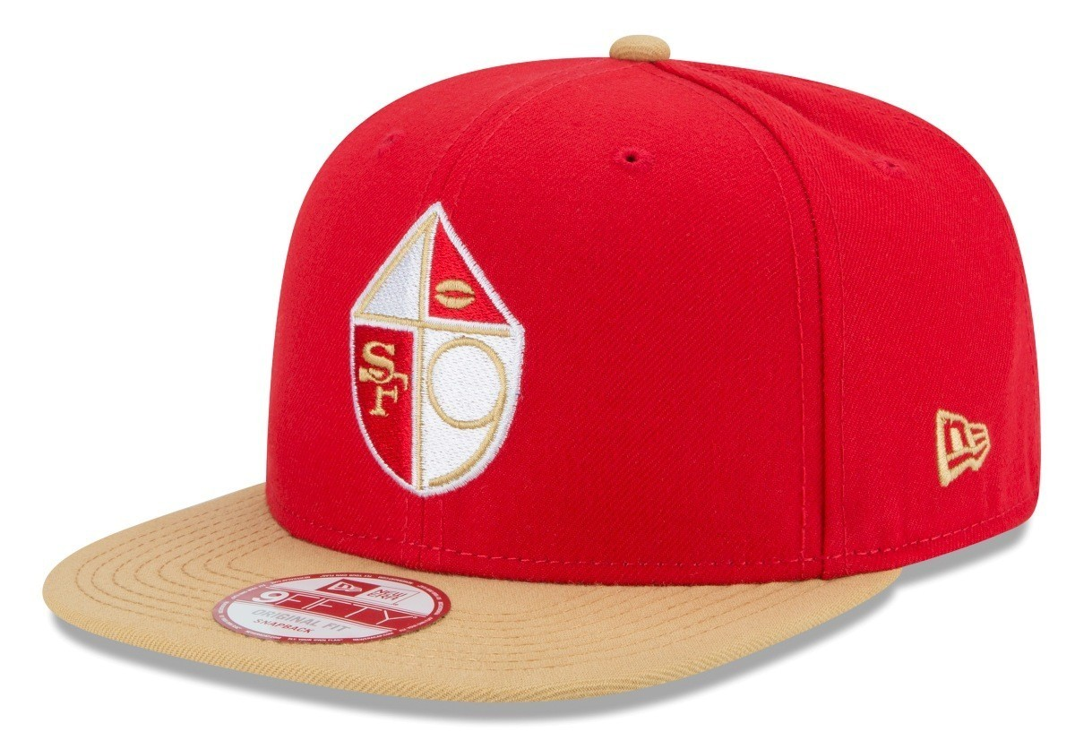 on sale b02ed 792c5 San Francisco 49ers New Era 9FIFTY NFL Historic 65-72 Baycik Snapback Hat