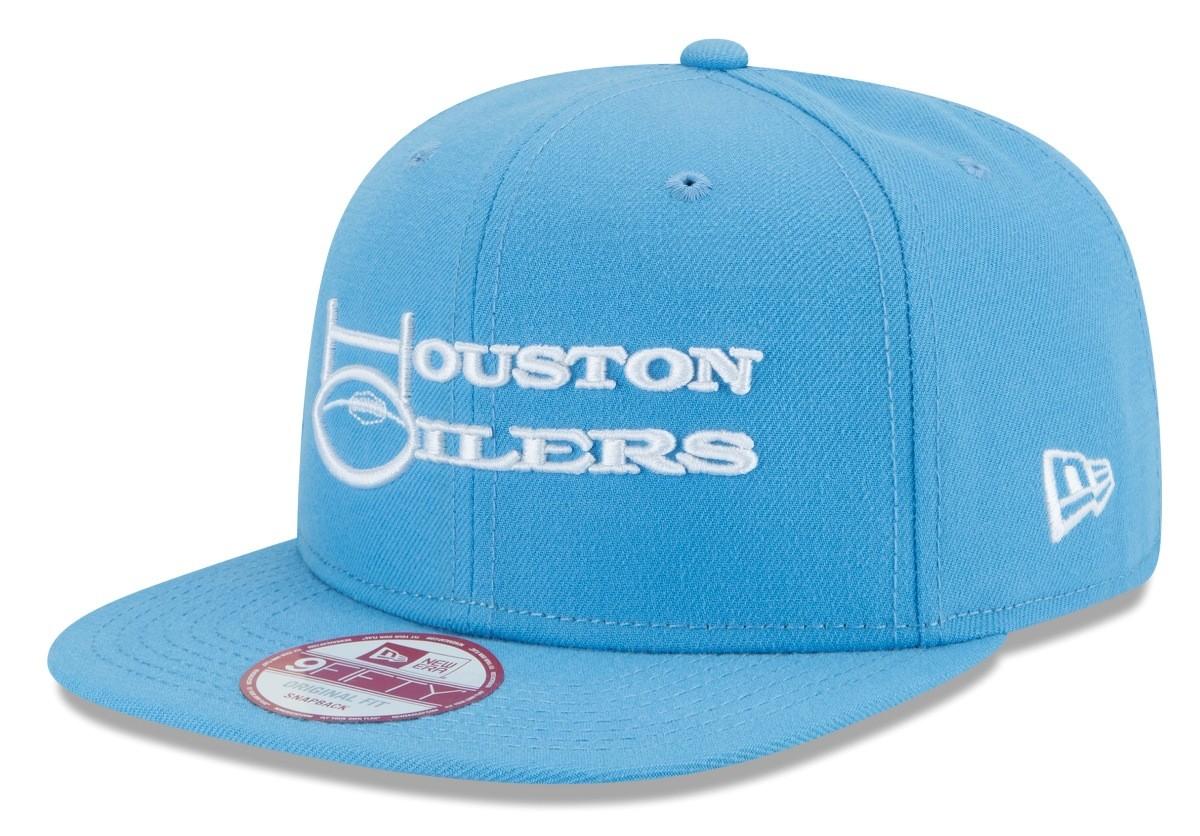 finest selection 39dd2 df1b3 Houston Oilers New Era 9FIFTY NFL Historic Baycik Snapback Hat