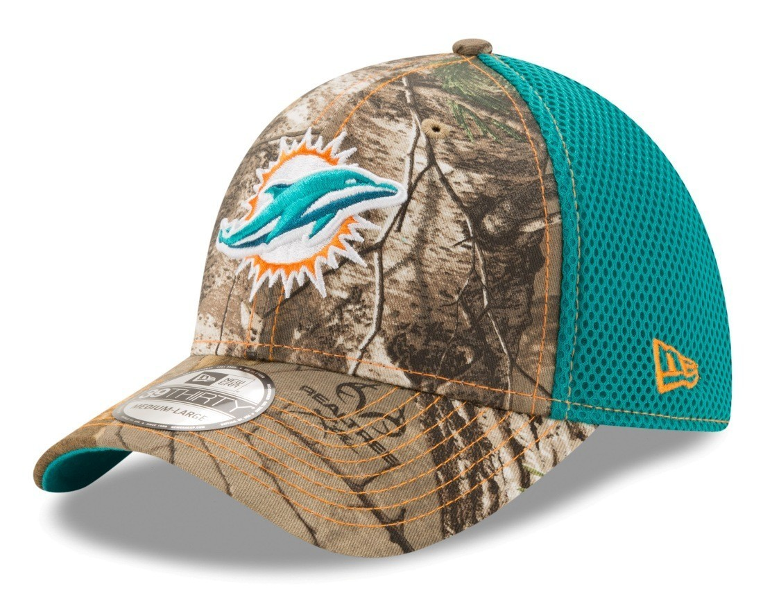 huge discount 89cd1 540e6 Miami Dolphins New Era NFL 39THIRTY