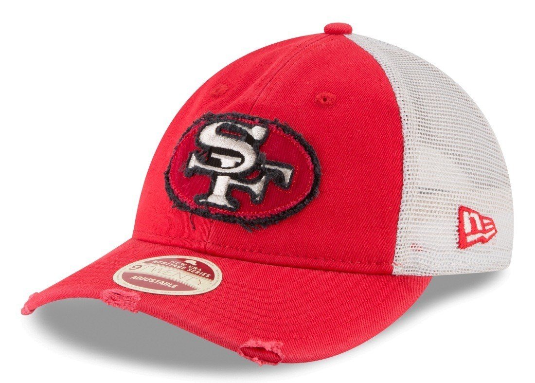 new product a1a95 b9078 Details about San Francisco 49ers New Era NFL 9Twenty Historic
