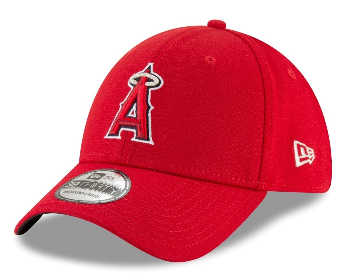 696e9d0177a Details about Los Angeles Angels New Era MLB 39THIRTY Team Classic Flex Fit  Hat