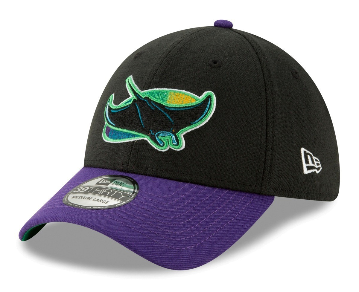 Details about Tampa Bay Rays New Era 39THIRTY MLB Cooperstown