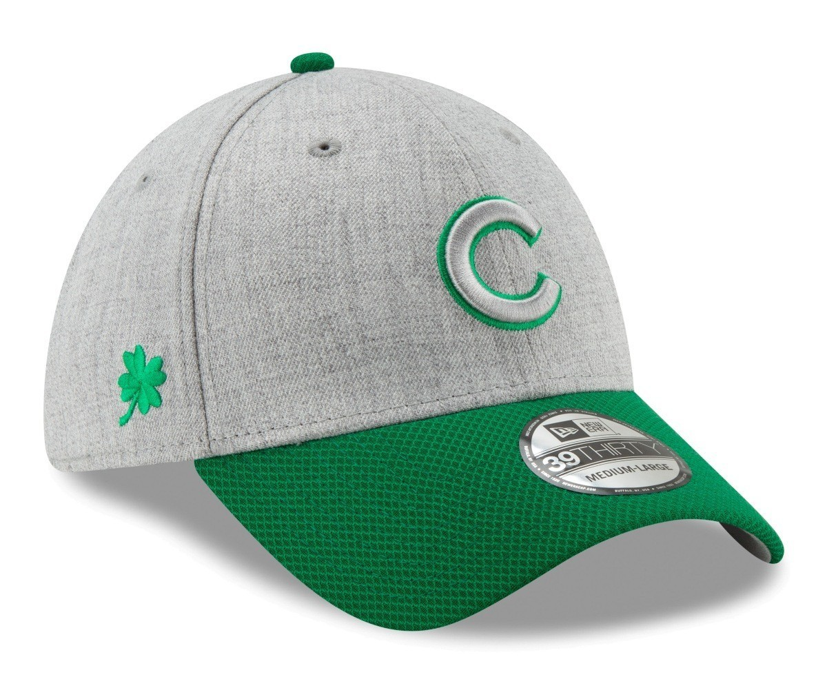 cbf4253f18b Chicago Cubs New Era MLB 39THIRTY St. Patrick s