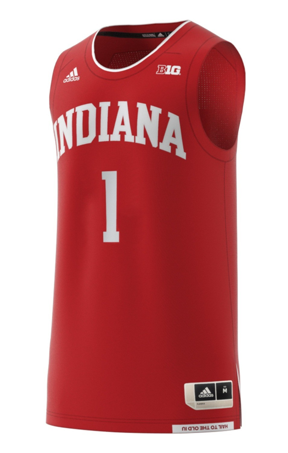 on sale 40c2b c6df3 Indiana Hoosiers Adidas NCAA Men's Swingman Basketball Jersey