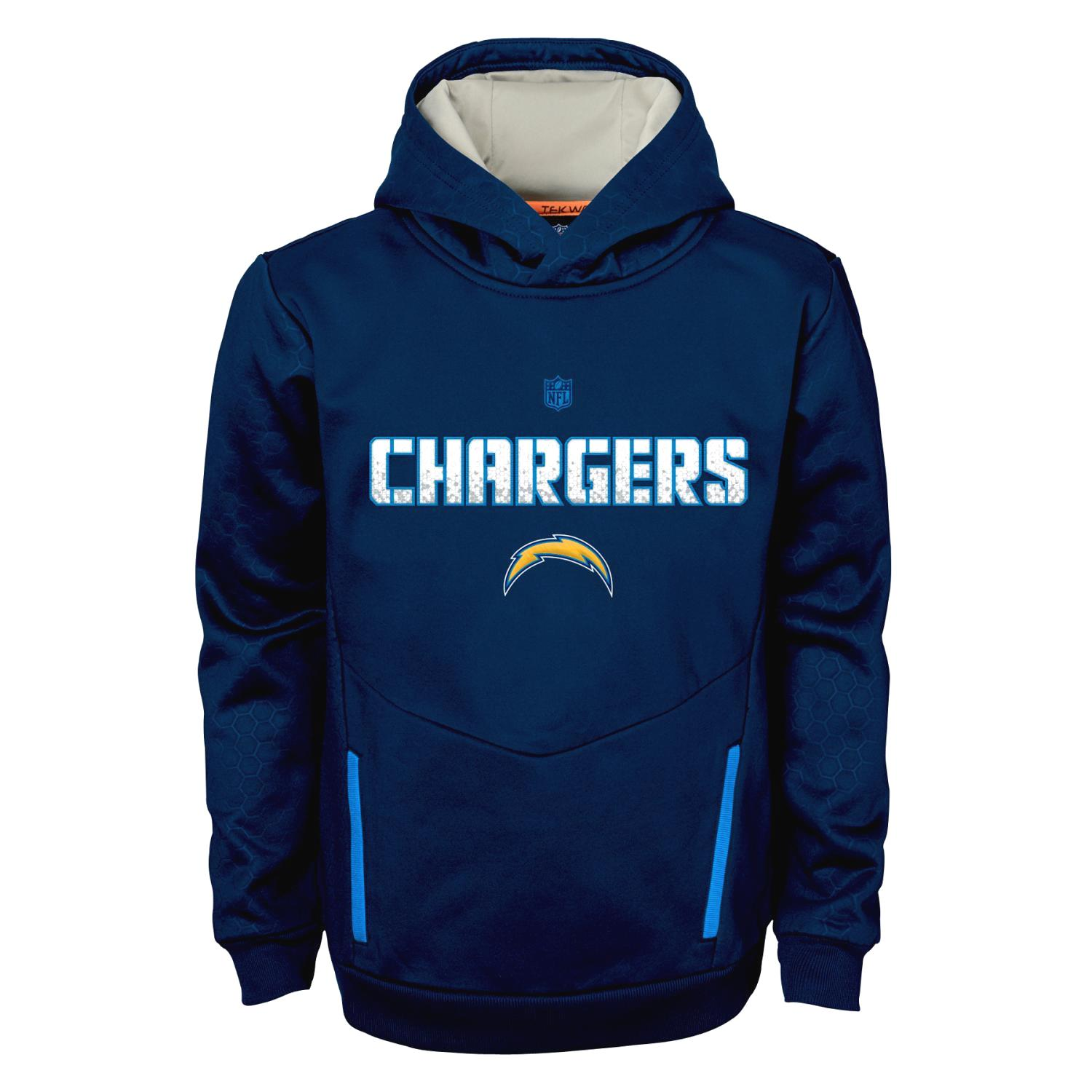 "San Diego Chargers Hoodies: San Diego Chargers Youth NFL ""Shadow"" Pullover Hooded"
