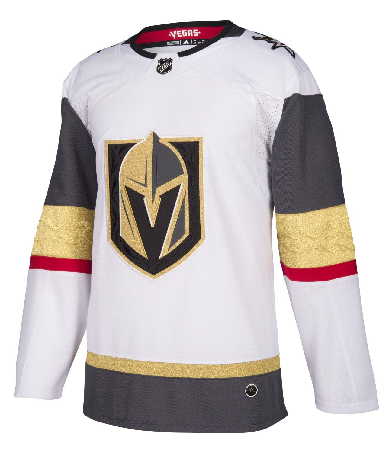 edc3ae9bc1d Details about Las Vegas Golden Knights Adidas NHL Men's Climalite Authentic  Away Hockey Jersey