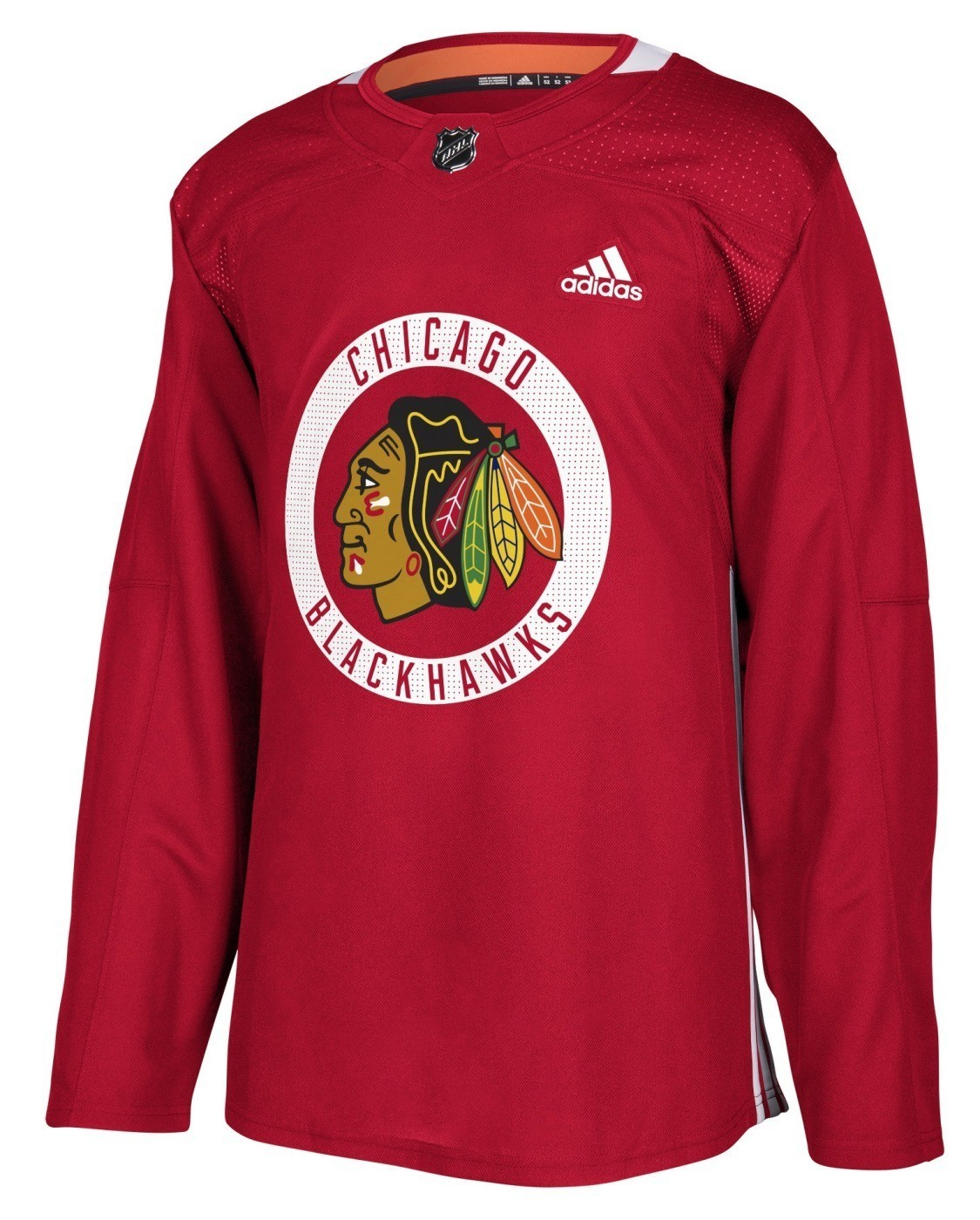Details about Chicago Blackhawks Adidas NHL Men s Climalite Authentic  Practice Jersey 71544172f