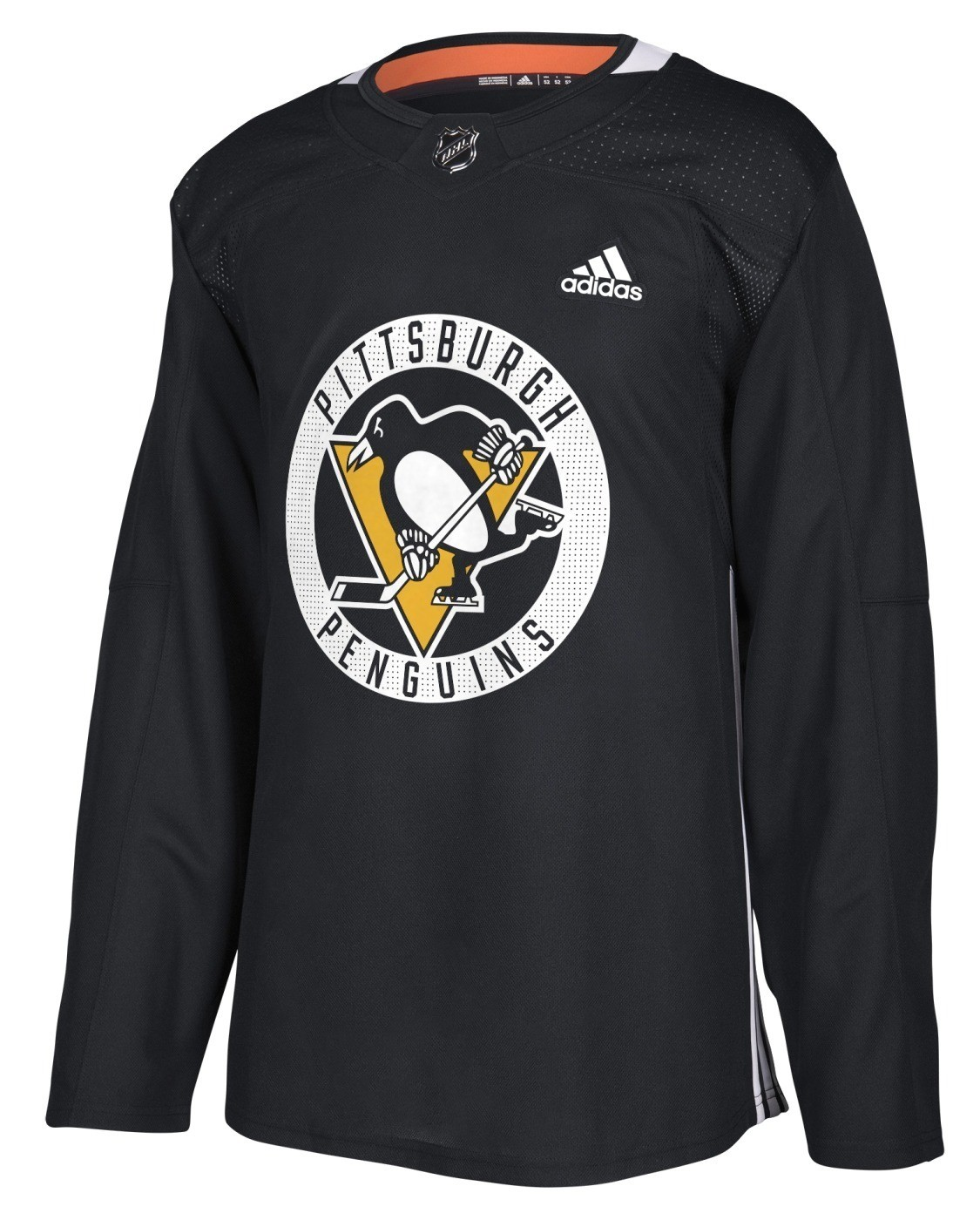 Details about Pittsburgh Penguins Adidas NHL Men s Climalite Authentic  Practice Jersey 0eb313b86a8