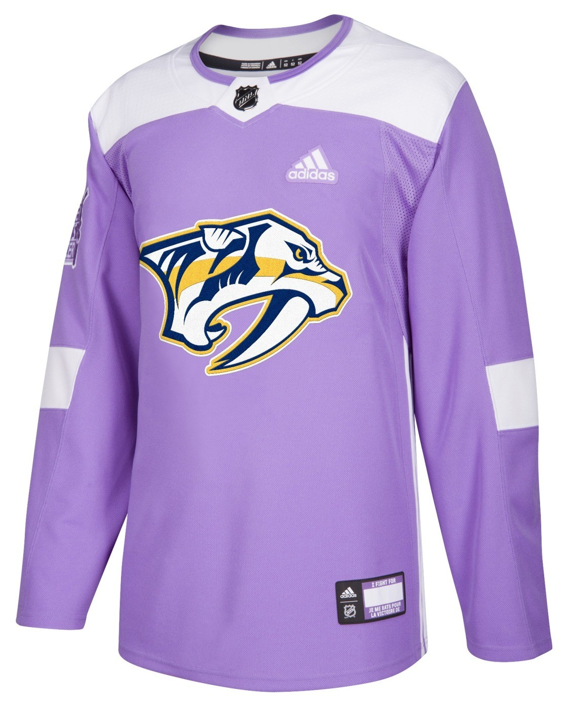 Nashville predators cancer jersey for cheap for Nashville predators jersey