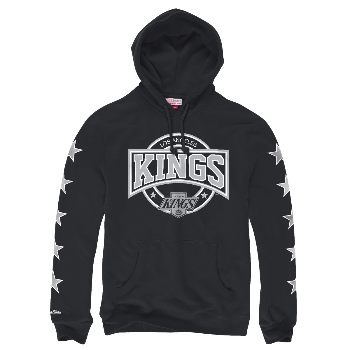"Los Angeles Kings Mitchell & Ness NHL ""To The Wire"" Pullover Hooded Sweatshirt"