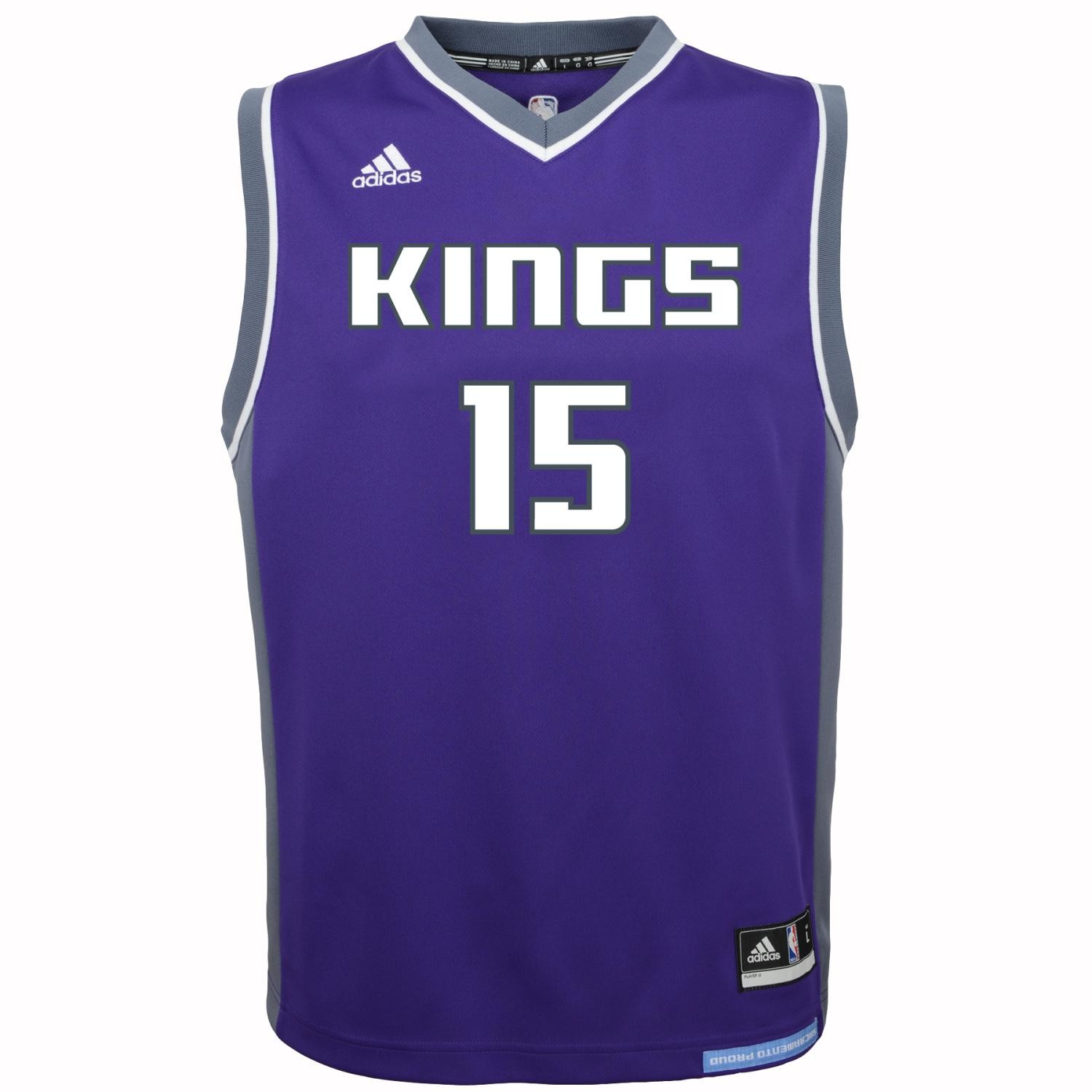 944eb597 Details about DeMarcus Cousins Sacramento Kings Adidas NBA Replica Youth  Jersey