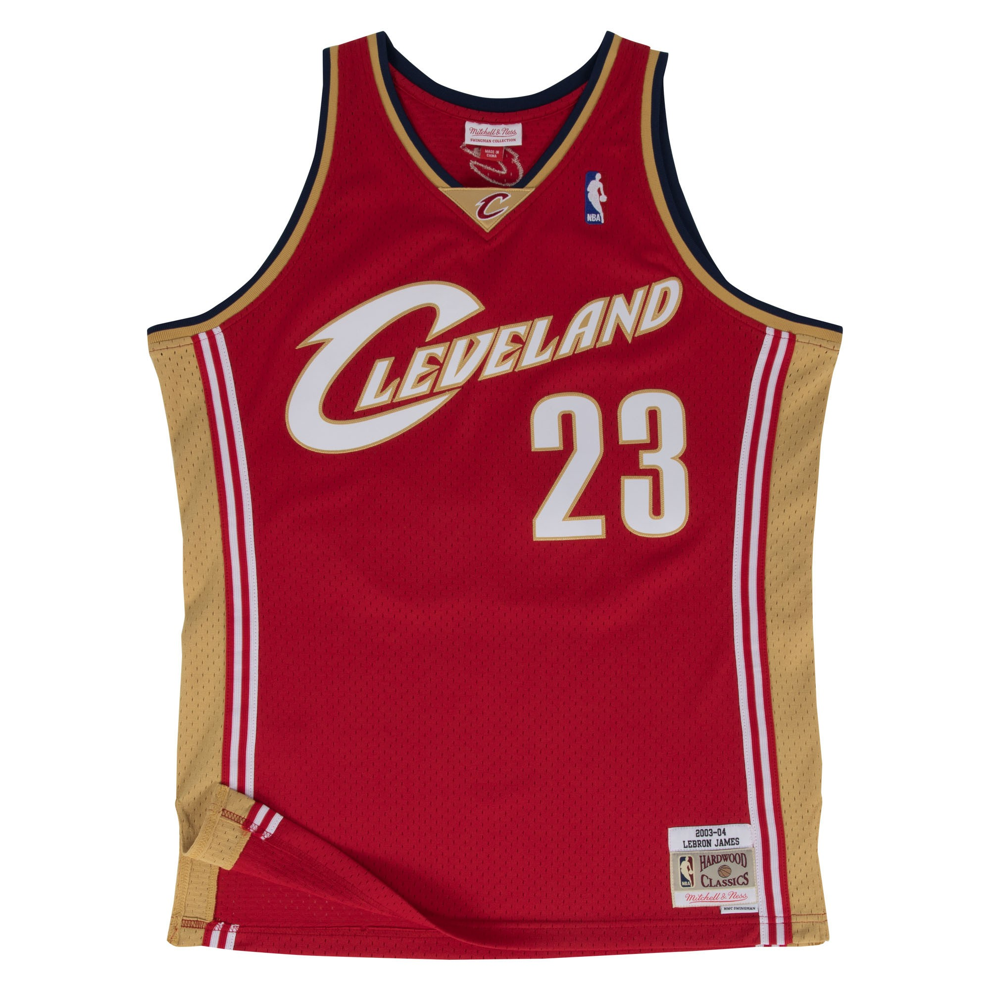 Details about Lebron James Cleveland Cavaliers Mitchell   Ness NBA  Throwback Jersey - Garnet d1217a868