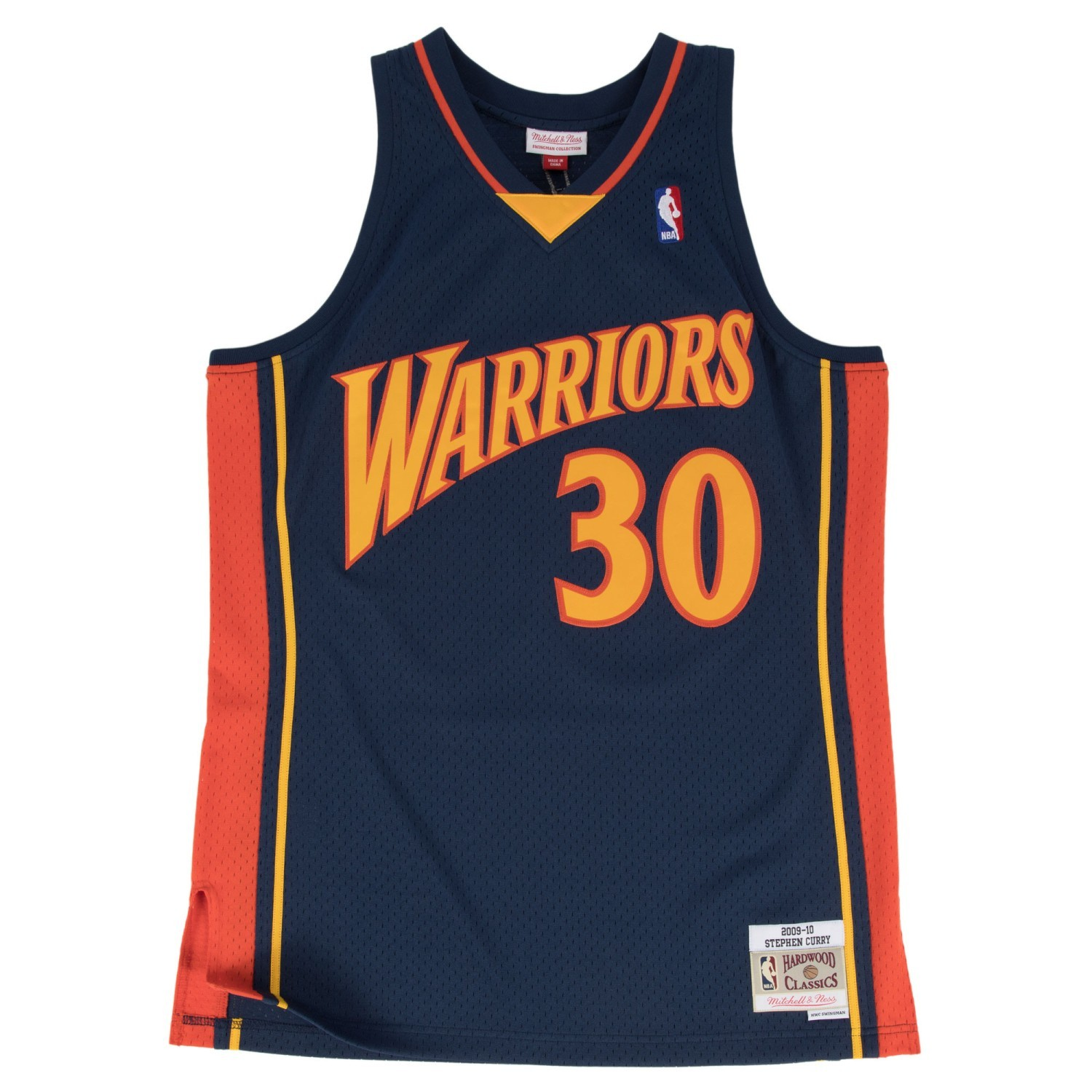 Details about Stephen Curry Golden State Warriors Mitchell   Ness NBA  Throwback Jersey - Navy 0e203767208