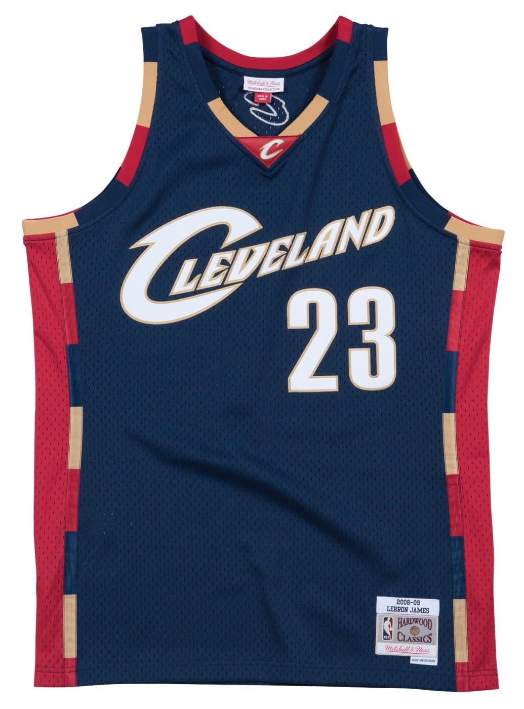 timeless design 74b04 caf0f Details about Lebron James Cleveland Cavaliers Mitchell & Ness NBA Swingman  HWC Jersey - Navy
