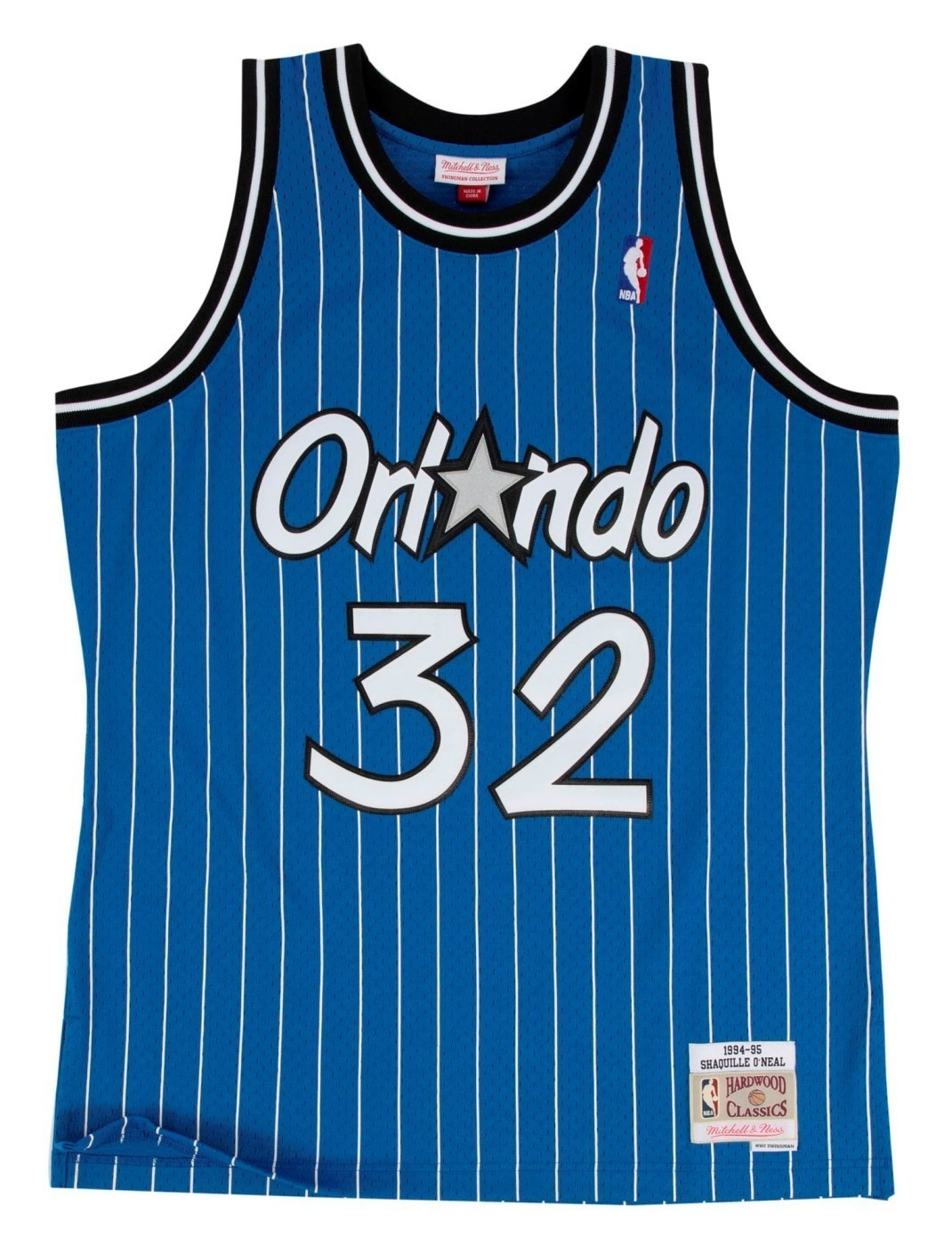 Shaquille O Neal Orlando Magic Mitchell   Ness NBA Swingman HWC Jersey -  Blue 543fd709e