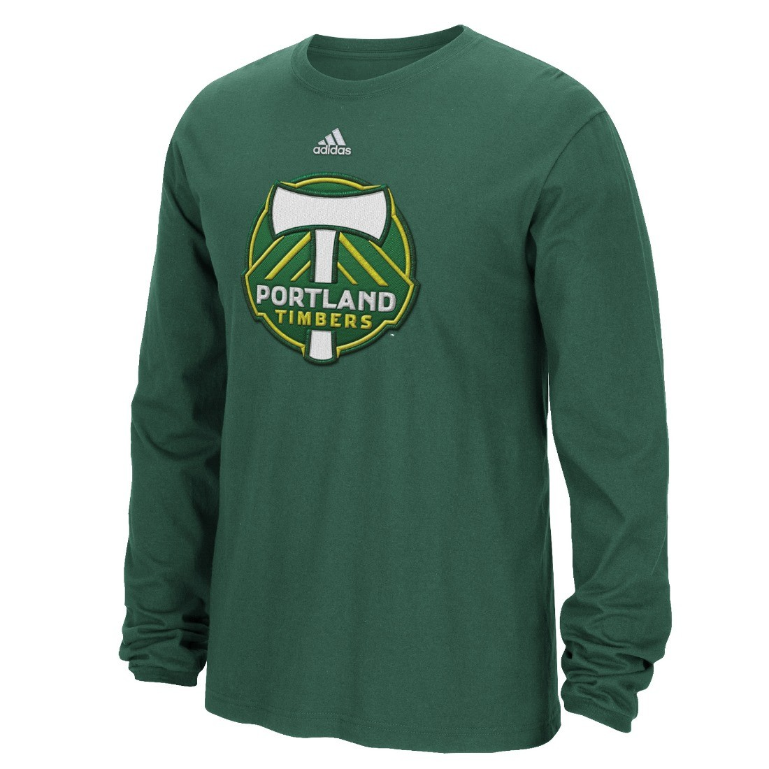 Portland timbers adidas mls high end patch men 39 s long for High end men s shirts